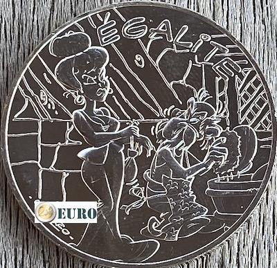 10 euro Frankrijk 2015 - Asterix égalité intrigant