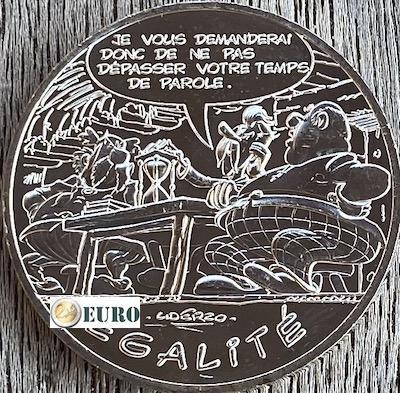 10 euro Frankrijk 2015 - Asterix égalité Het geschenk van Caesar
