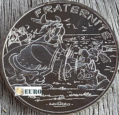 10 euro Frankrijk 2015 - Asterix fraternité en de Noormannen
