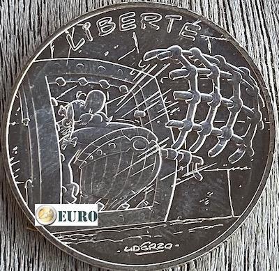 10 euro Frankrijk 2015 - Asterix Liberté Het gouden snoeimes