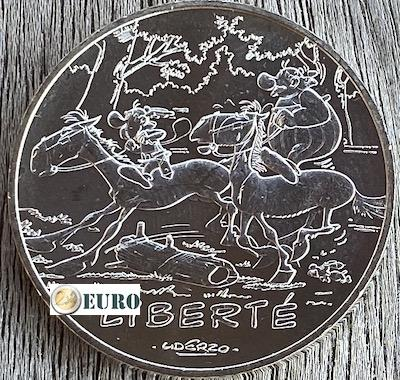 10 euro Frankrijk 2015 - Asterix Liberté De ronde van Gallia Asterix