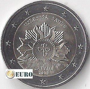 2 euro Letland 2019 - Wapenschild - Zonsopgang UNC