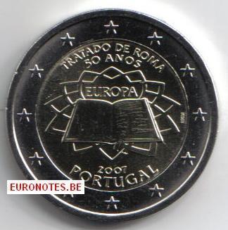 Portugal 2007 - 2 euro Verdrag van Rome VVR UNC