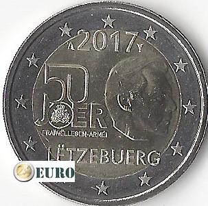 2 euro Luxemburg 2017 - Vrijwillige Legerdienst UNC