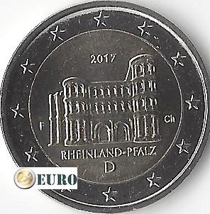2 euro Duitsland 2017 - F Rheinland-Pfalz UNC