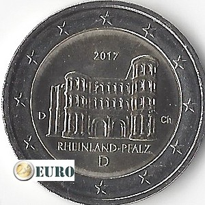 2 euro Duitsland 2017 - D Rheinland-Pfalz UNC