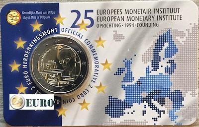 2 euro België 2019 - 25 jaar EMI BU FDC Coincard NL