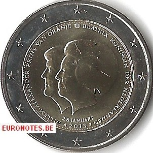 Nederland 2013 - 2 euro Dubbelportret UNC