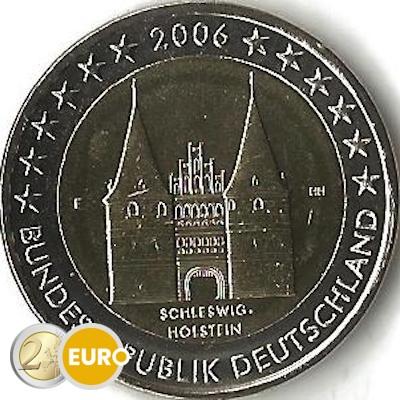 Duitsland 2006 - 2 euro F Schleswig-Holstein UNC
