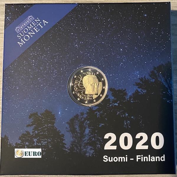 2 euro Finland 2020 - Vaino Linna BE Proof