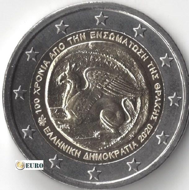 2 euro Griekenland 2020 - Eenwording met Thracie UNC