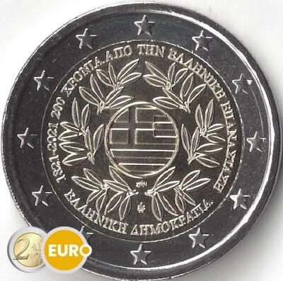 2 euro Griekenland 2021 - Griekse revolutie UNC