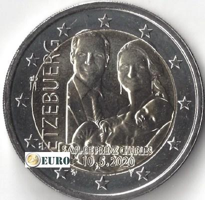 2 euro Luxemburg 2020 - Geboorte Karel van Luxemburg UNC