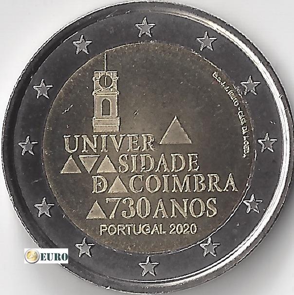 2 euro Portugal 2020 - Universiteit Coimbra UNC