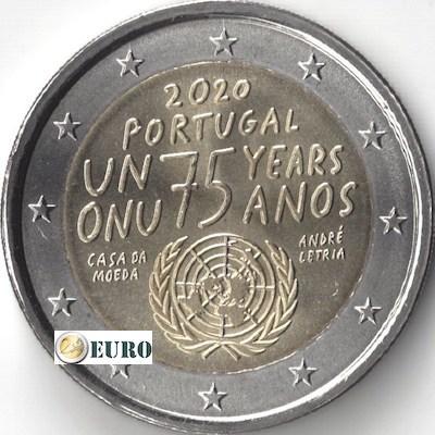 2 euro Portugal 2020 - Verenigde Naties VN UNC