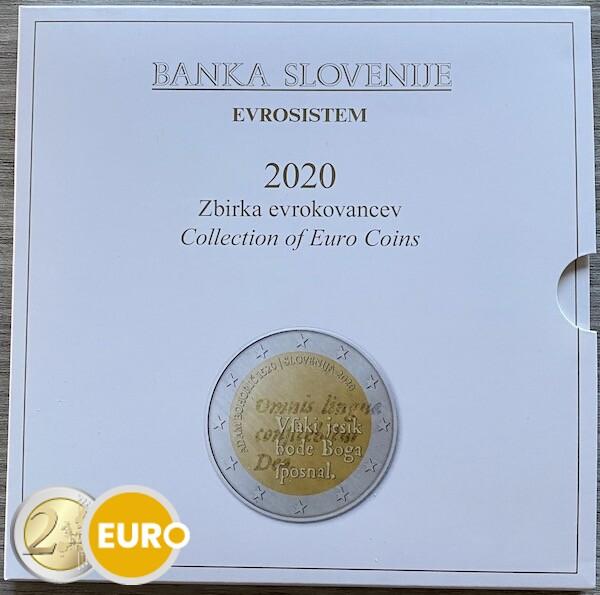 Euro set BU FDC Slovenie 2020