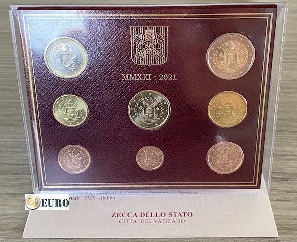 Euro set BU FDC Vaticaan 2021