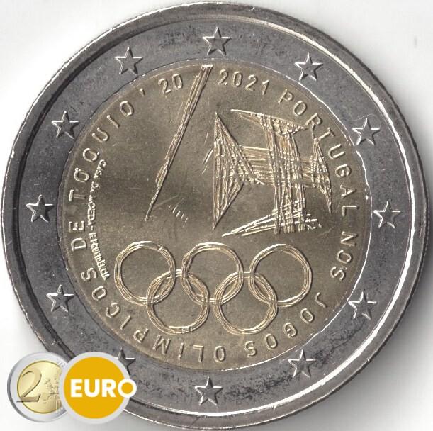 2 euro Portugal 2021 - Olympische Spelen UNC