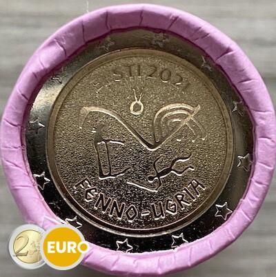 Rol 2 euro Estland 2021 - Fins-Oegrische volkeren