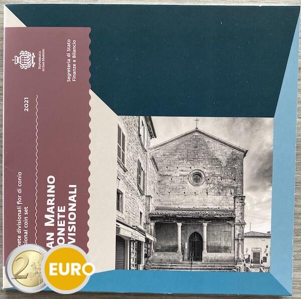 Euro set BU FDC San Marino 2021