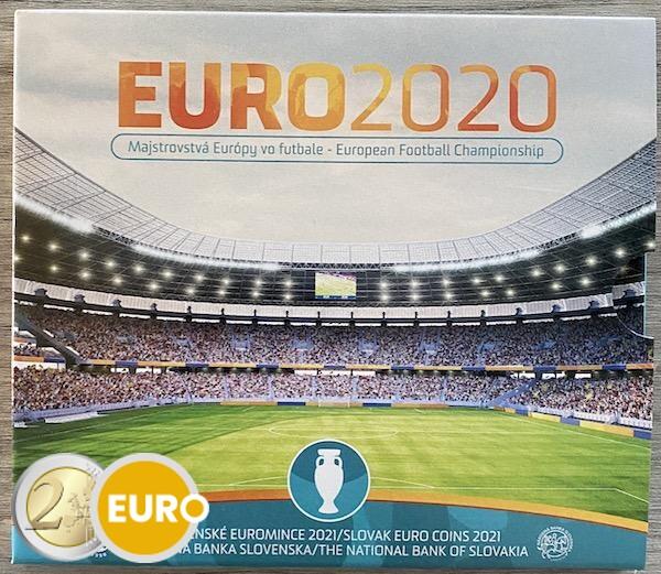 Euro set BU FDC Slowakije 2021 - EURO 2020 voetbal