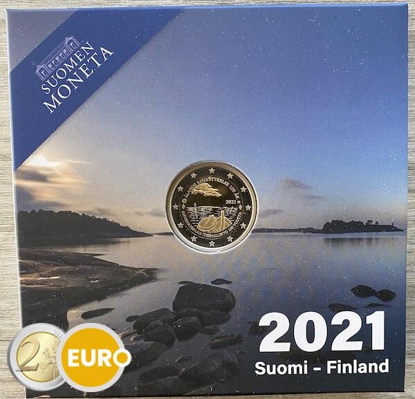 2 euro Finland 2021 - Alandeilanden BE Proof