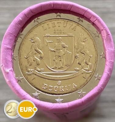 Rol 2 euro Litouwen 2021 - Dzukija Regio