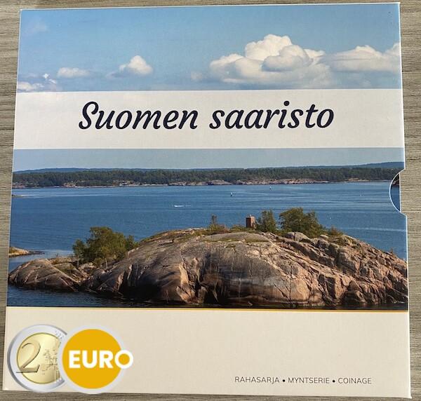 Euro set BU FDC Finland 2021 Finse archipel