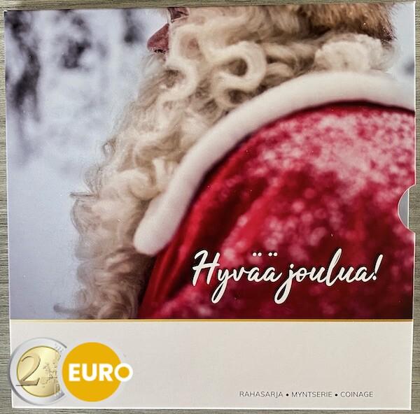 Euro set BU FDC Finland 2021 Kerstmis