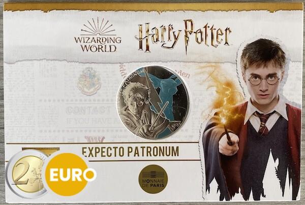 50 euro Frankrijk 2021 - Harry Potter Expecto Patronum BE Proof zilver gekleurd