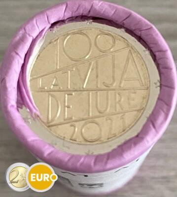 Rol 2 euro Letland 2021 - Internationale erkenning